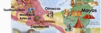 Mapa mental de mesoamerica