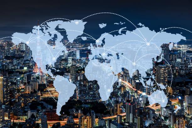 mapa mental de la globalización económica
