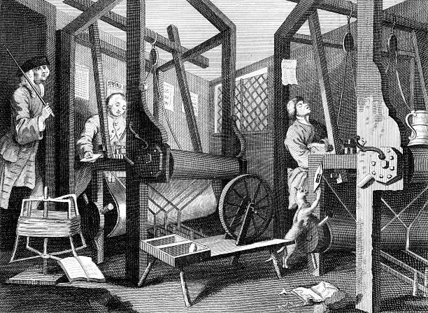 mapa mental de la revolución industrial con dibujos