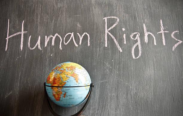 mapa mental de los derechos humanos con dibujos