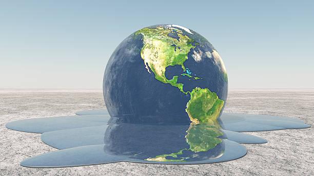 mapa mental del calentamiento global con dibujos